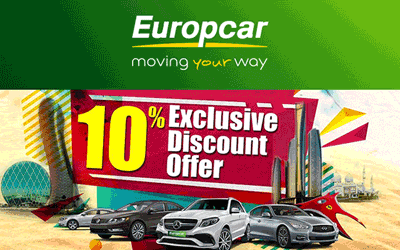 Don't Miss Europcar Abu Dhabi Discount