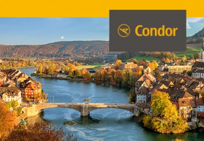 Win a trip to Europe on Condor